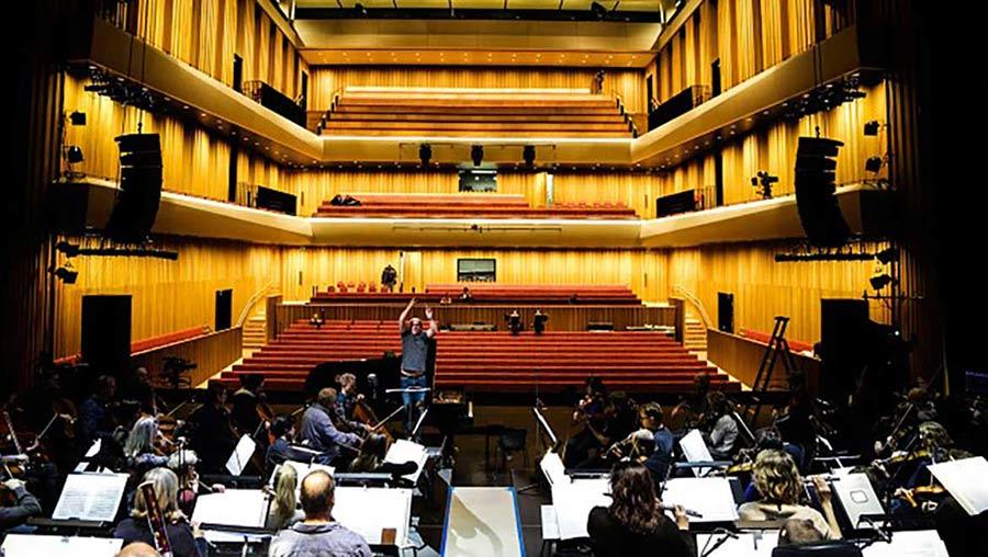 DPA mics for recording in concert halls
