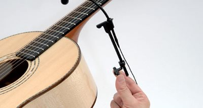 How to mount the d:vote™ Instrument Microphone on various instruments